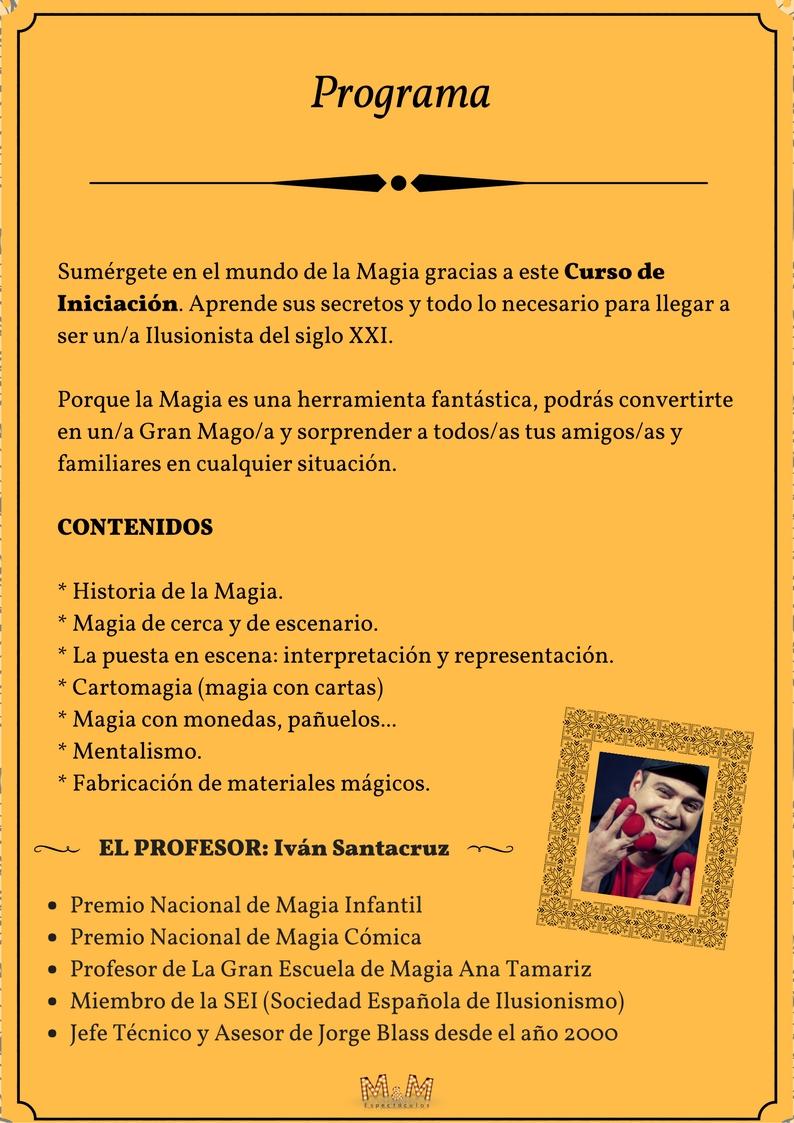 Programa Escuela de Magia